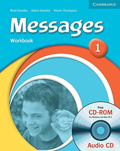 9780521696739: Messages 1 Workbook with Audio CD/CD-ROM: Level 1