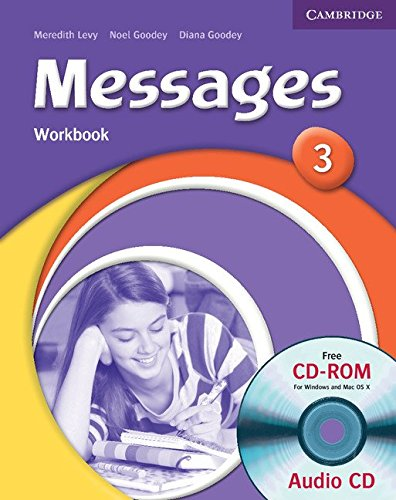 9780521696753: Messages 3 Workbook with Audio CD/CD-ROM: Level 3