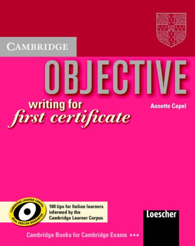 9780521696883: Objective Writing for First Certificate 100 Tips Writing Booklet Italian edition