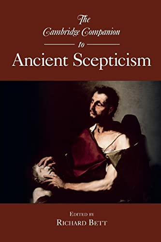 9780521697545: The Cambridge Companion to Ancient Scepticism