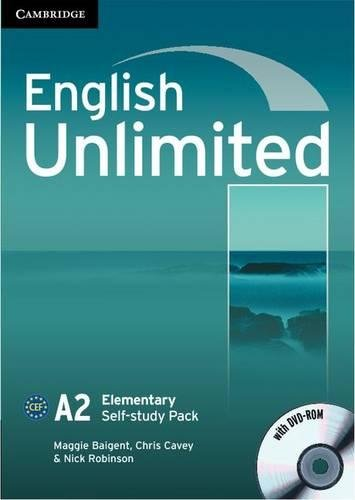 9780521697743: English Unlimited Elementary Self-study Pack (Workbook with DVD-ROM)