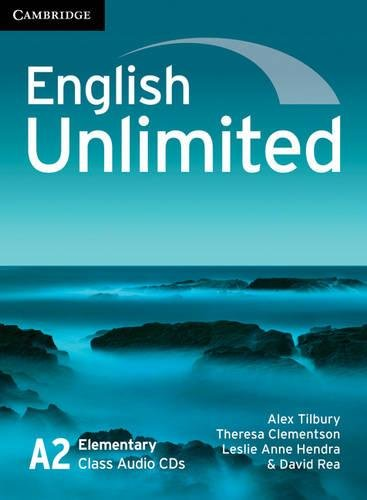 9780521697750: English Unlimited Elementary Class Audio CDs (3)
