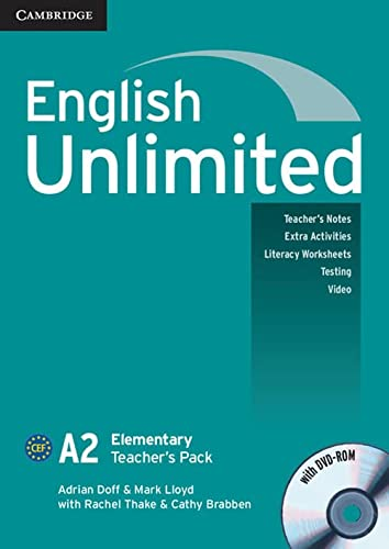 9780521697767: English Unlimited Elementary Teacher's Pack (Teacher's Book with DVD-ROM)