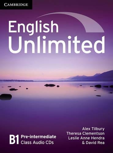 9780521697798: English Unlimited Pre-intermediate Class Audio CDs (3)