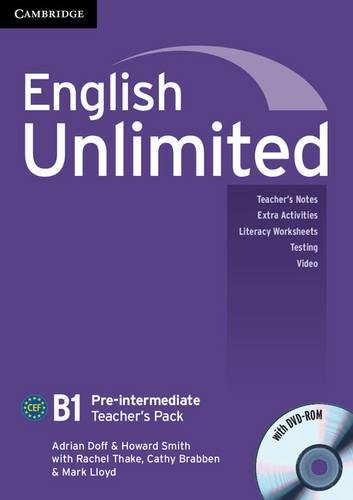9780521697804: English Unlimited Pre-intermediate Teacher's Pack (Teacher's Book with DVD-ROM)