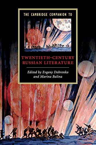 9780521698047: The Cambridge Companion to Twentieth-Century Russian Literature