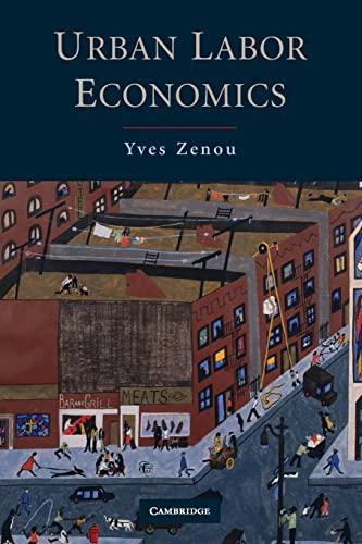 9780521698221: Urban Labor Economics