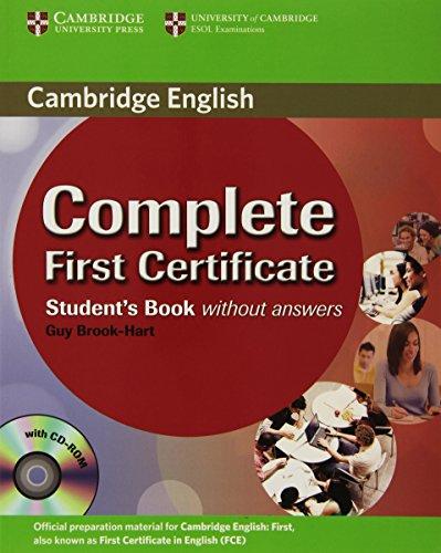 9780521698252: Complete first certificate. Student's book. Per le Scuole superiori. Con CD-ROM