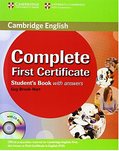 9780521698269: Complete First Certificate Student's Book with answers with CD-ROM