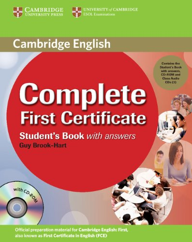 9780521698276: Complete First Certificate Student's Book Pack