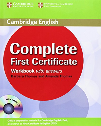 9780521698320: Complete First Certificate Workbook with Answers and Audio CD