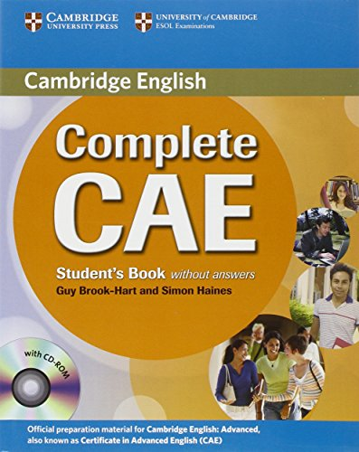 9780521698429: Complete CAE Student's Book without answers with CD-ROM