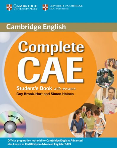 9780521698436: Complete CAE Student's Book with Answers with CD-ROM