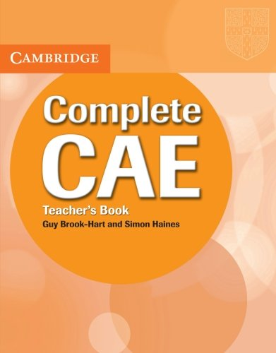 9780521698450: Complete CAE Teacher's Book