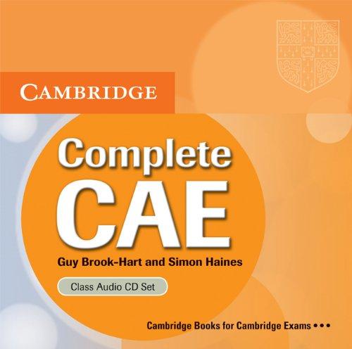 9780521698474: Complete CAE Class Audio CDs (3)