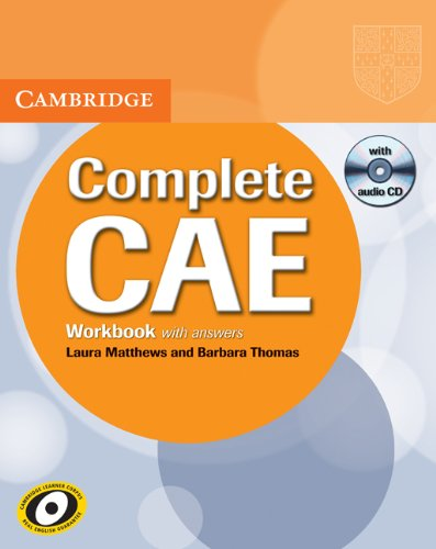 9780521698498: Complete CAE Workbook with Answers with Audio CD