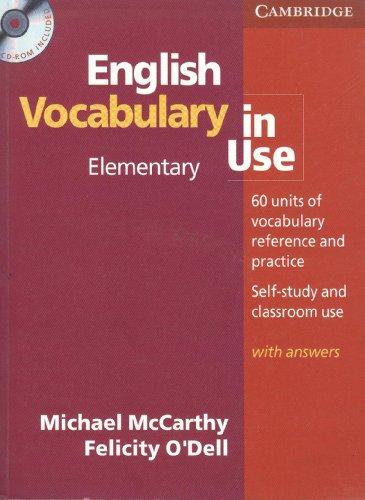9780521698542: ENGLISH VOCABULARY IN USE ELEMENTARY
