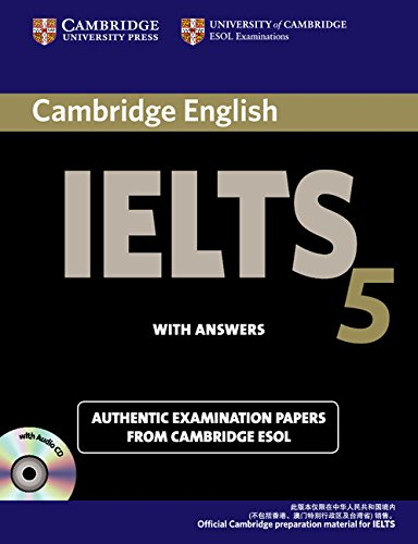 9780521698894: Cambridge IELTS 5 Self-study Pack (Self-study Student's Book and Audio CDs (2)) China Edition: Level 5 (IELTS Practice Tests)