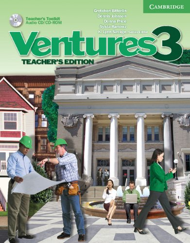 9780521698917: Ventures Level 3 Teacher's Edition with Teacher's Toolkit Audio CD/CD-ROM