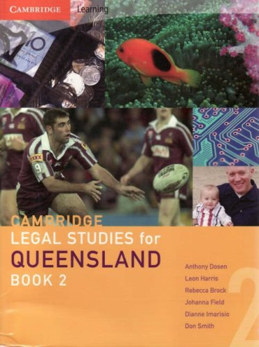 9780521698979: Cambridge Legal Studies for Queensland Book 2