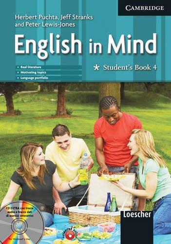 9780521699242: English in mind. Student's book-Workbook. Per le Scuole superiori. Con CD-ROM: 4