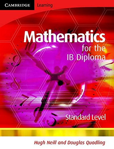 9780521699280: Mathematics for the IB Diploma Standard Level