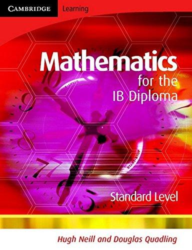 9780521699280: Mathematics for the IB Diploma Standard Level