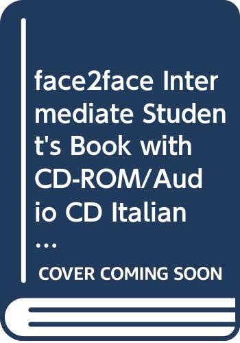9780521699495: face2face Intermediate Student's Book with CD-ROM/Audio CD Italian Edition