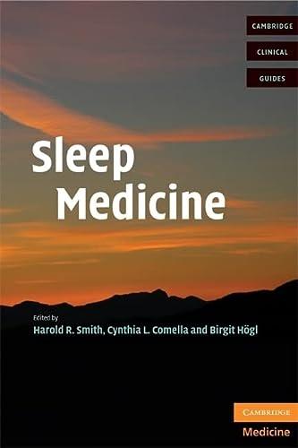 9780521699570: Sleep Medicine (Cambridge Clinical Guides)