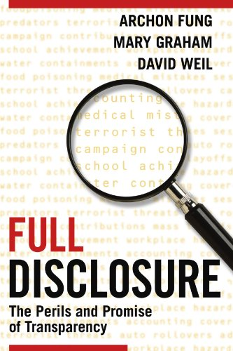 9780521699617: Full Disclosure: The Perils and Promise of Transparency