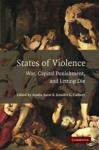 9780521699761: States of Violence: War, Capital Punishment, and Letting Die