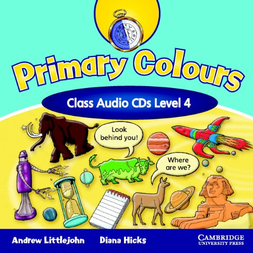 9780521699853: Primary Colours Level 4 Class Audio CDs