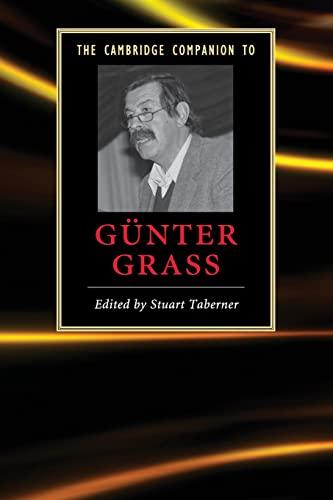 9780521700191: The Cambridge Companion to Günter Grass (Cambridge Companions to Literature)