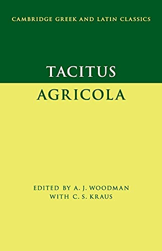 9780521700290: Tacitus: Agricola (Cambridge Greek and Latin Classics)