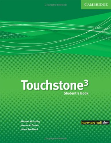 9780521700474: Touchstone Harmon Hall 3 Student's Book with Hybrid CD/Audio CD Mexico Edition