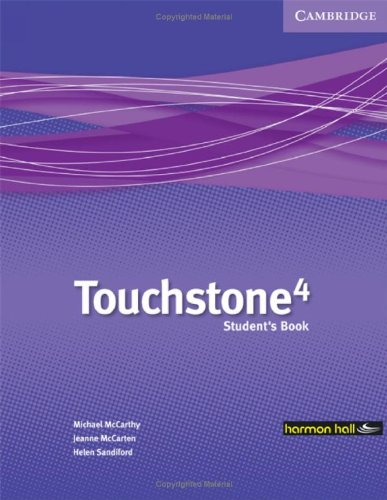 9780521700481: Touchstone Harmon Hall 4 Student's Book with Hybrid CD/Audio CD Mexico Edition