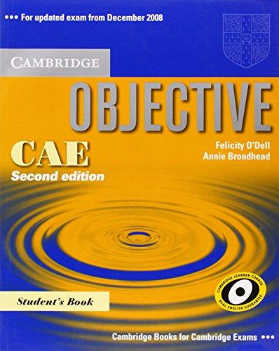 9780521700566: Objective CAE. Student's book. Per le Scuole superiori
