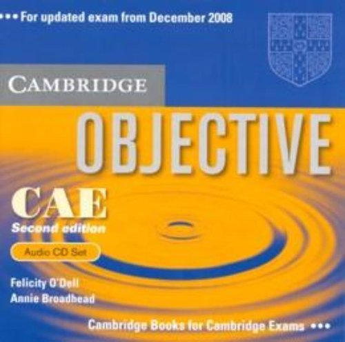 9780521700627: Objective CAE Audio CD Set (3 CDs)
