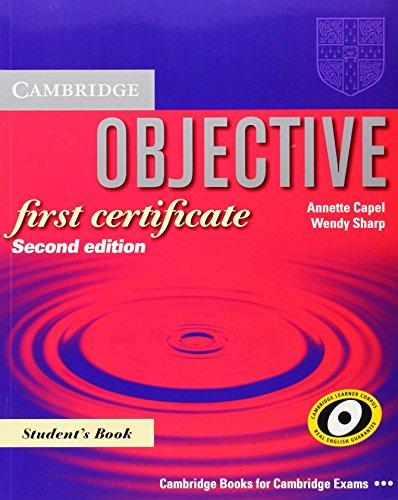 9780521700634: Objective first certificate. Student's book. Per le Scuole superiori