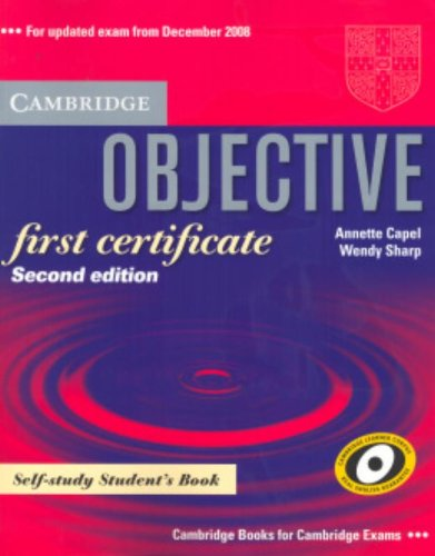 9780521700641: Objective First Certificate Self-study Student's Book