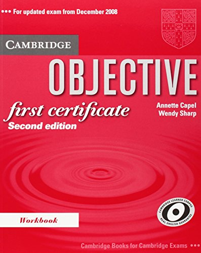 9780521700665: Objective First 2nd Certificate Workbook