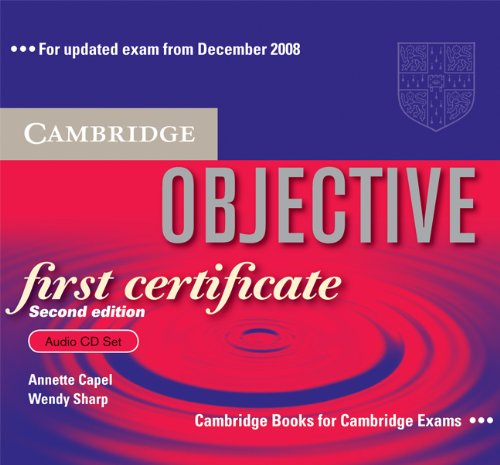 9780521700696: Objective First Certificate Audio CD Set (3 CDs)