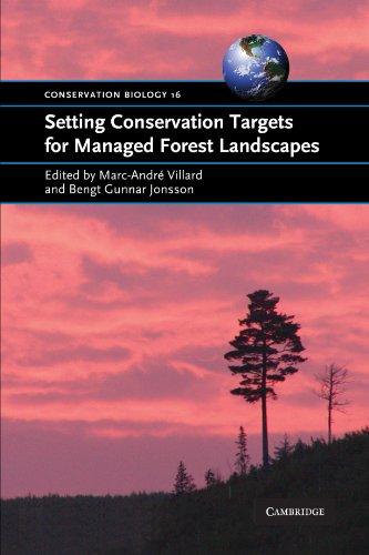 9780521700726: Setting Conservation Targets for Managed Forest Landscapes (Conservation Biology)
