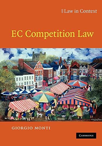 EC Competition Law: Giorgio Monti