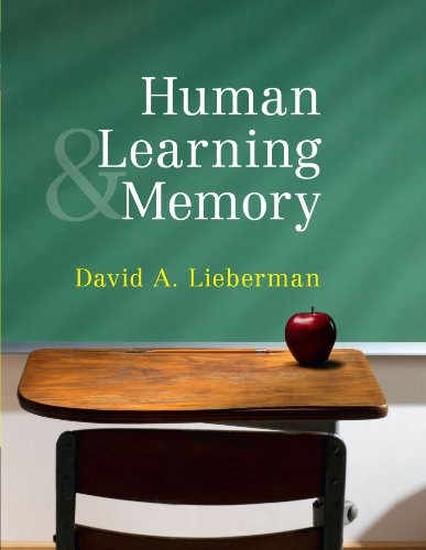9780521701396: Human Learning and Memory Paperback