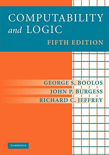 9780521701464: Computability and Logic