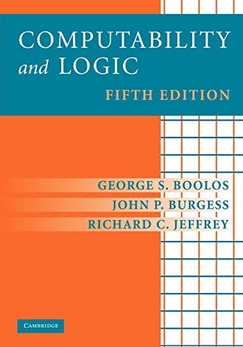 9780521701464: Computability and Logic Fifth Edition