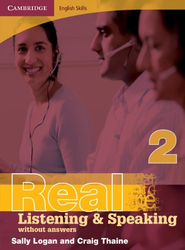 9780521702010: Real listening & speaking. level 2. Without answers. Per le Scuole superiori