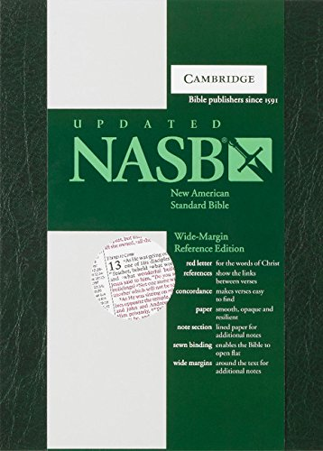Wide-Margin Reference Bible-NASB (Hardcover): Baker Publishing Group