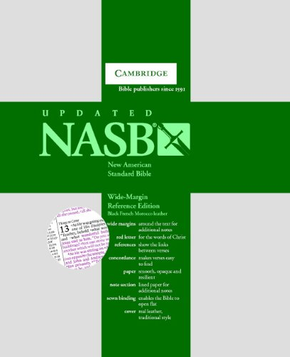 9780521702645: NASB: New American Standard Bible, Wide-Margin Reference Edition